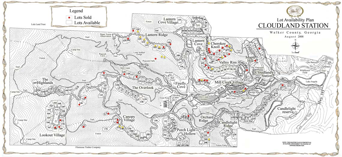 Lot-Availability-Map